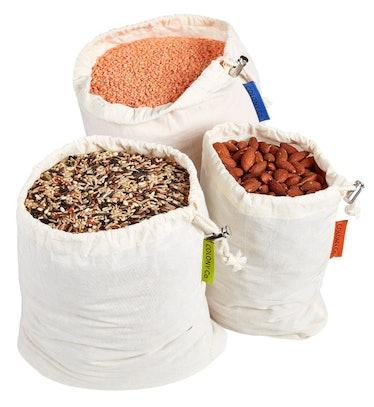 Colony Co. Reusable Bulk Bin Bags (Set of 6)