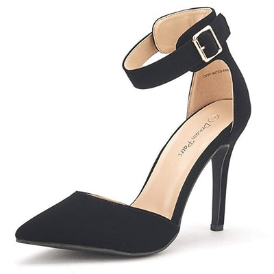 Dream Pairs Pointed Toe Ankle Strap Pumps