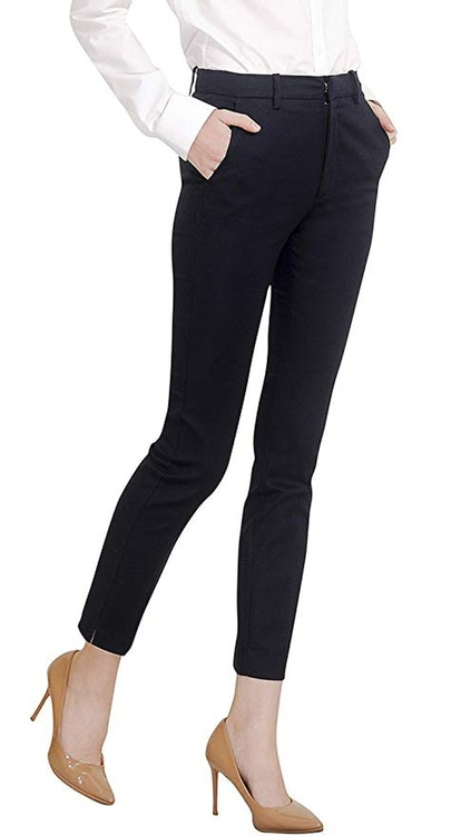 Marycrafts Women's Work Ankle Dress Pants
