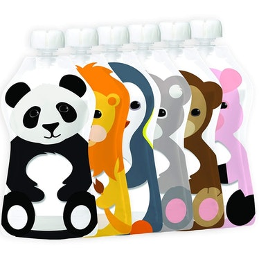 Squooshi Reusable Food Pouch (6 Pack)