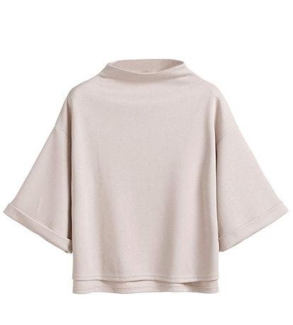 SweatyRocks Women's Short Sleeve Casual Cropped T-Shirt