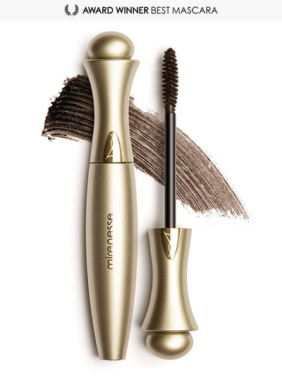 Mirenesse Cosmetics Secret Weapon 24hr Mascara Original - Winner Best Mascara Brown Duo (2 x 2012 10g / 0.35oz) - AUTHENTIC
