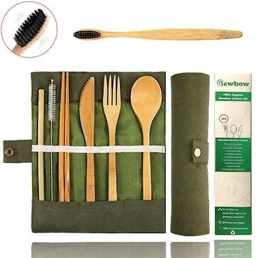 Bewbow Bamboo Cutlery Set