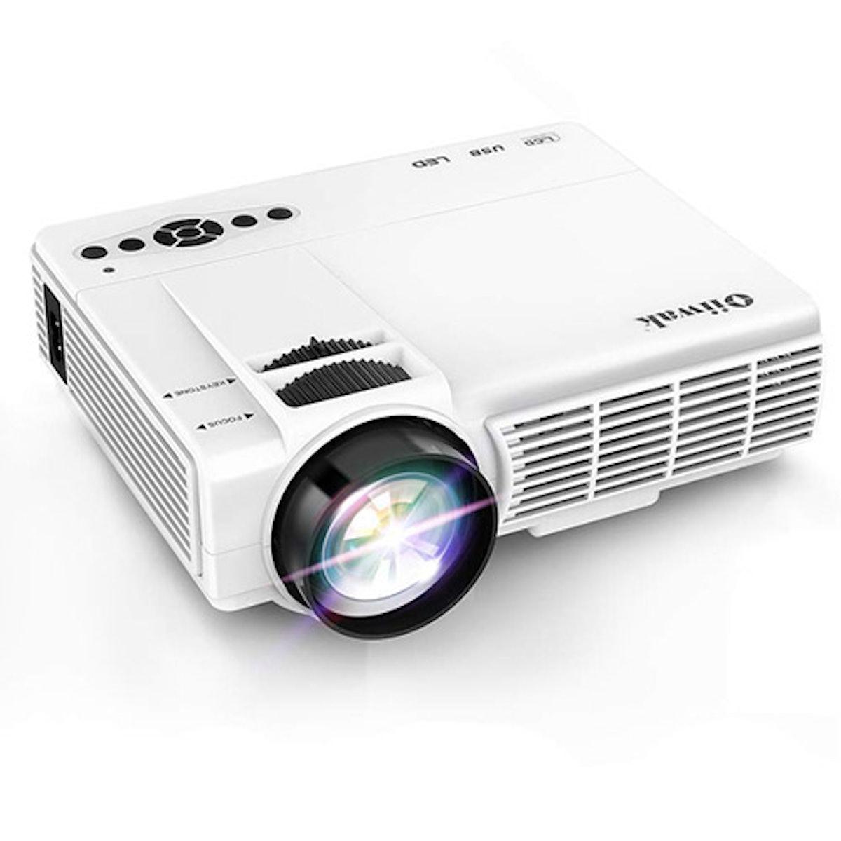 Oiiwak Home Movie Mini Projector