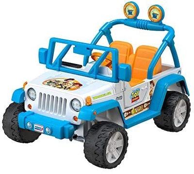 Power Wheels Disney Pixar Toy Story 4 Jeep Wrangler