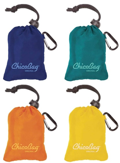 ChicoBag Original Reusable Shopping Tote (4 Pack)