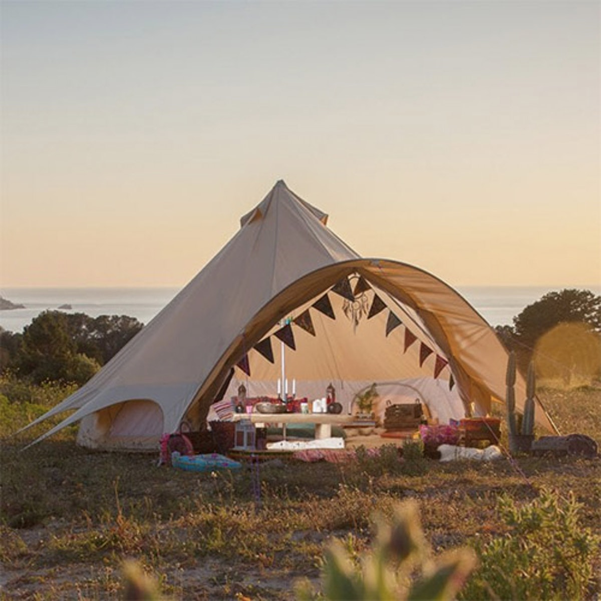 Sandstone Star Bell Tent