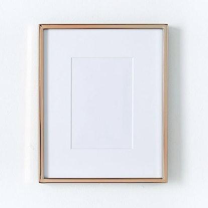 Polished Rose Gold Gallery Frame