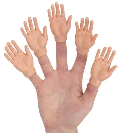 Hands Finger Puppets