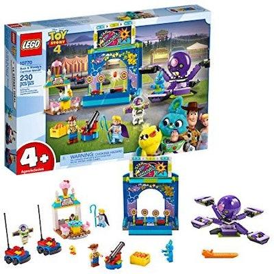 LEGO   Disney Pixar's Toy Story 4 Buzz & Woody's Carnival Mania 10770 Building Kit, New 2019 (230 Piece)