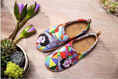 UIN Travel Canvas Flats