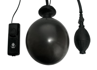 Trinity Vibes Vibrating Inflatable Anal Plug