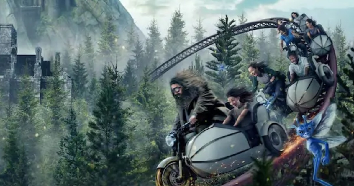 Hagrid's Magical Creatures Motorbike Adventure At Universal Had A 10-Hour Wait Time