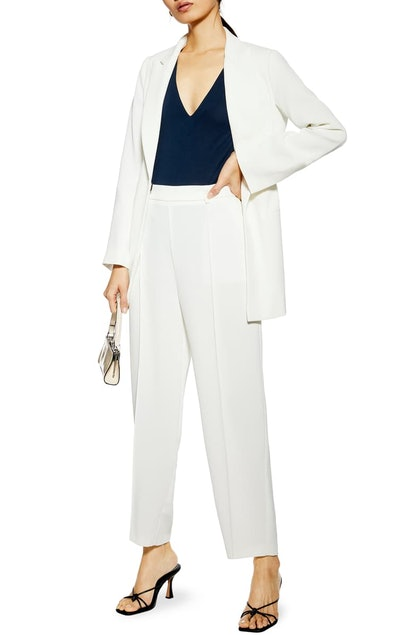 Suit Jacket & Slouch Trousers