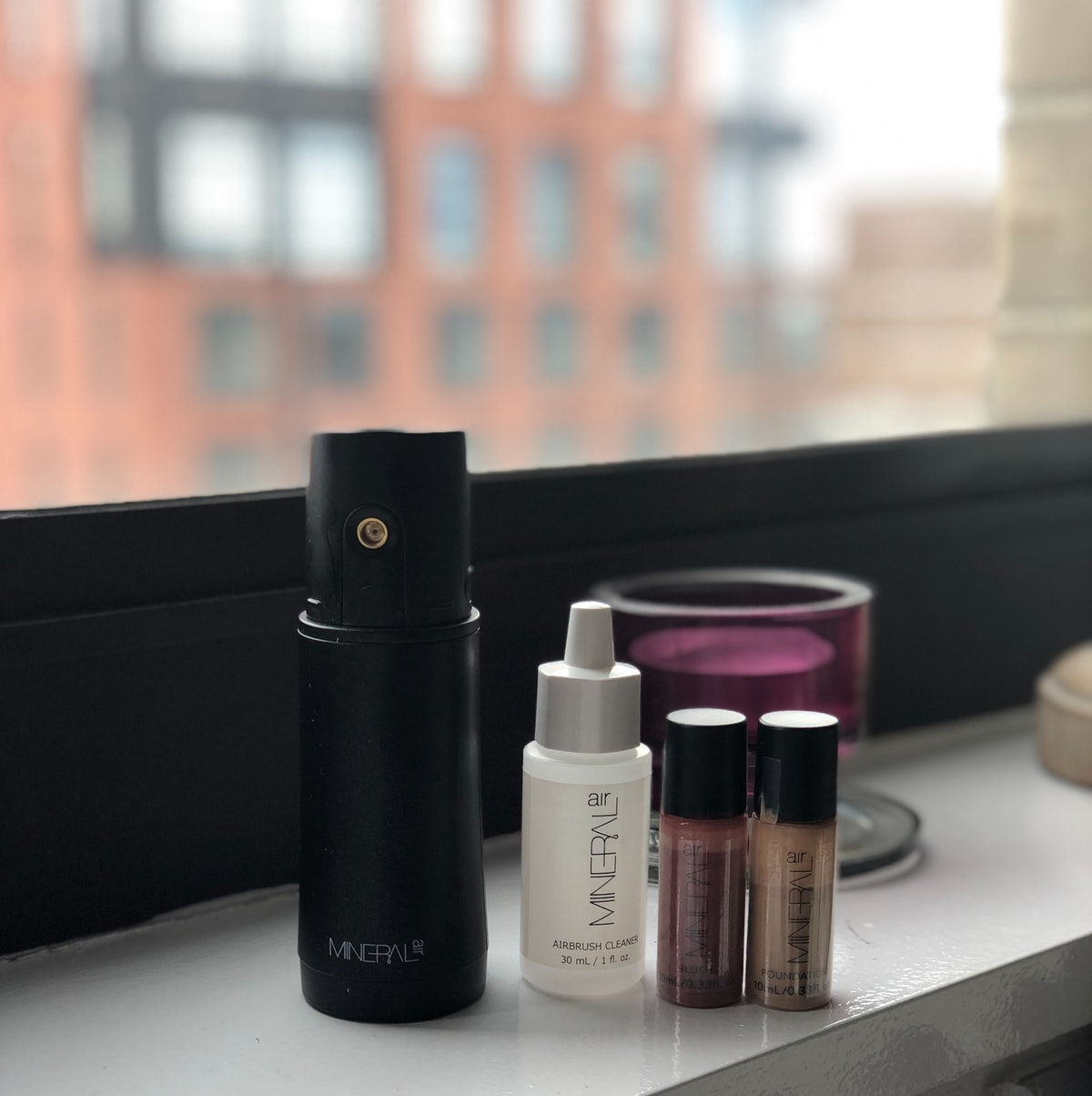 The Mineral Air device is small, compact, and perfect for travel.