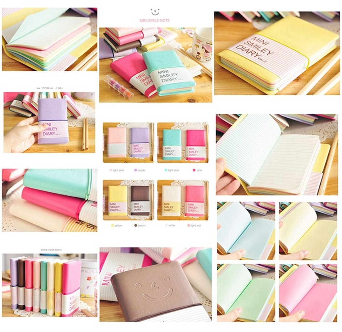 Yansanido Pocket Notebooks (2 Pack)