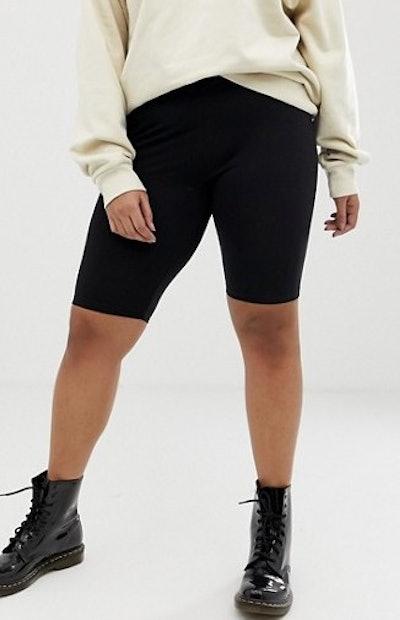 Legging Shorts In Black 2 Pack