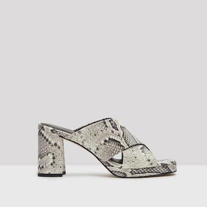 Vila Roccia Snake Leather Sandals