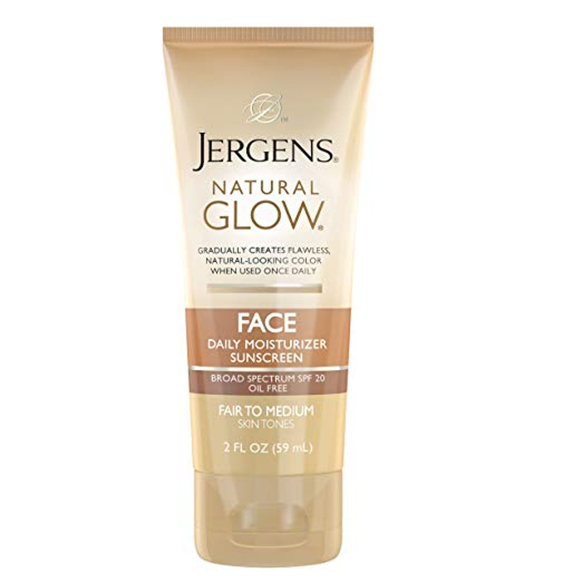 Jergens Natural Glow Oil-Free Moisturizer For Face SPF 20