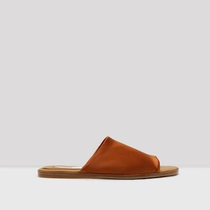 Agnes Brick Lycra Sandals