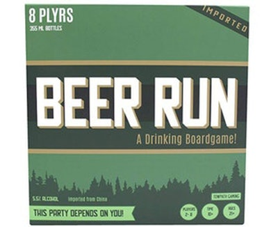 Beer Run Drinking Strategy Board Game