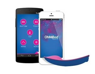 OhMiBod blueMotion Remote Vibrator