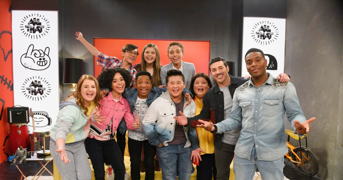 The 2019 'All That' Cast Is Here To Serve Up Good Burgers & More For The Next Generation