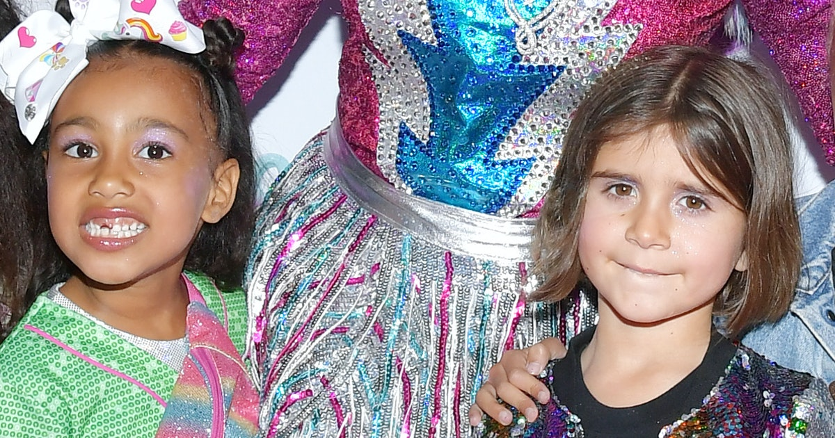North West & Penelope Disick's Candy Land-Themed Birthday Party Was A Super Sweet Bash