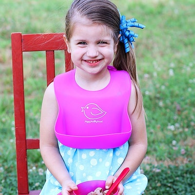 Happy Healthy Parent Silicone Waterproof Bib