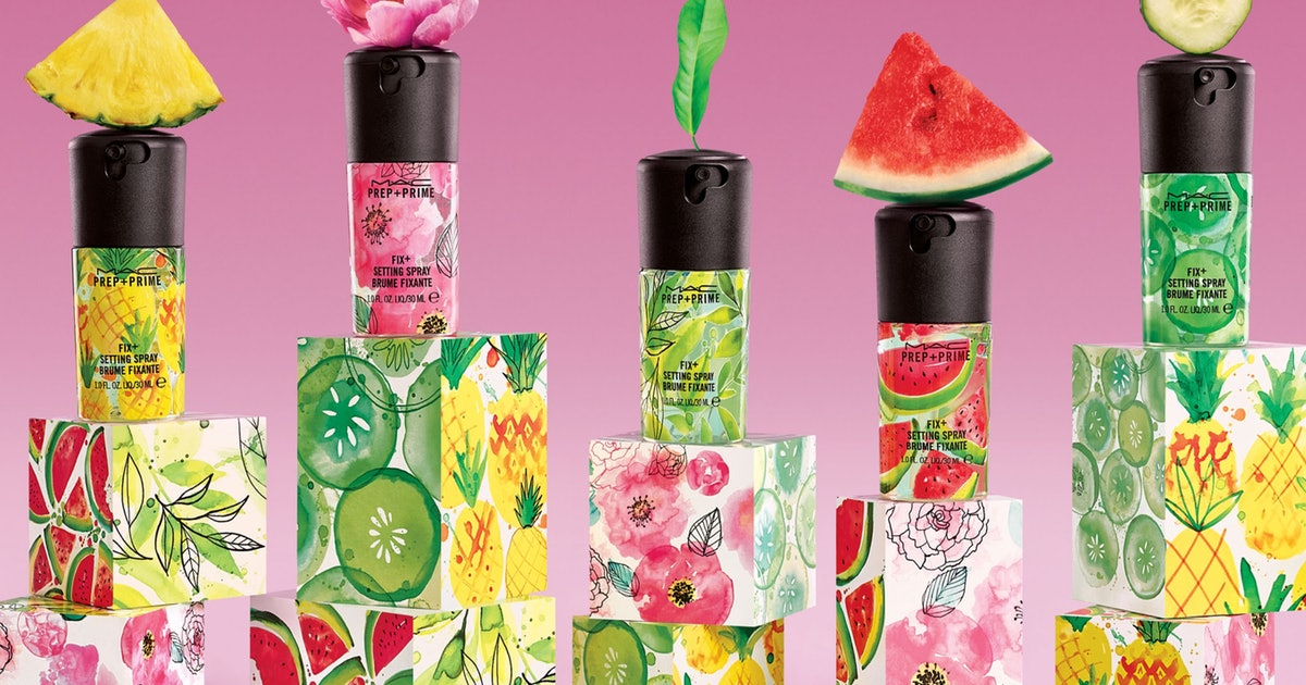 MAC Cosmetics' Prep + Prime Fix+ Got 5 New Scents For Summer In The Perfect Travel-Sized Bottle