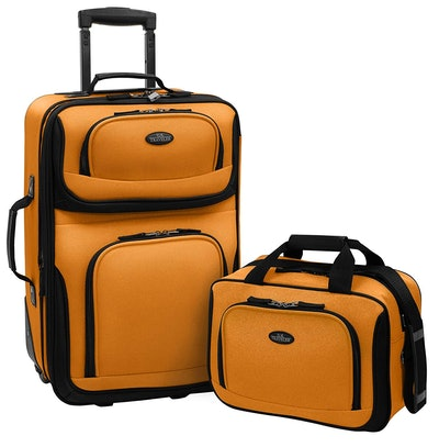 U.S Traveler Rio Two-Piece Luggage Set