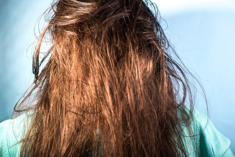 Here's why your hair is greasy after washing it.