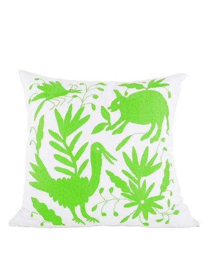 Tenango Embroidered Pillow