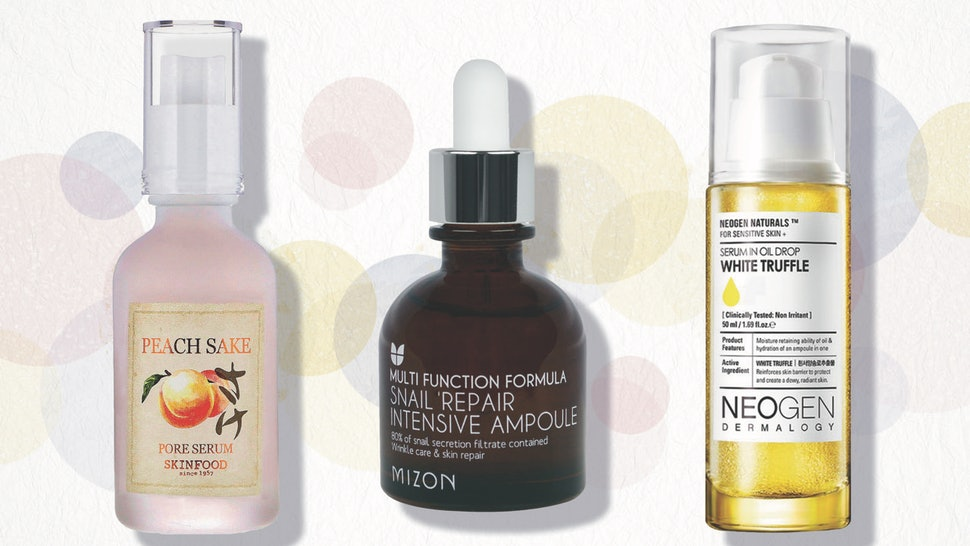 The 5 Best Affordable Korean Serums