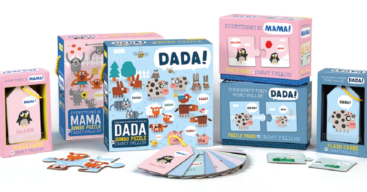 These Flash Cards & Puzzles Based On Jimmy Fallon's Books Need To Be On Your Tot's Bookshelf