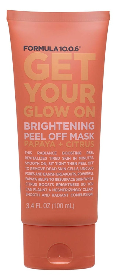 Formula 10.0.6 Get Your Glow On Brightening Peel Off Mask