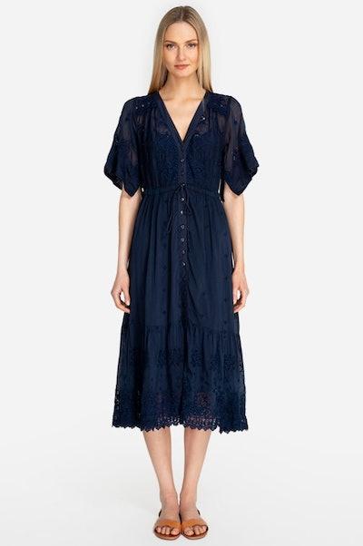 Water Midi Dress