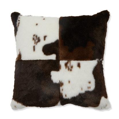 Belham Living Multi Faux Fur Decorative Throw Pillow
