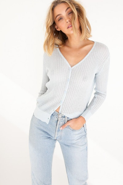 Semi Sheer Cardigan