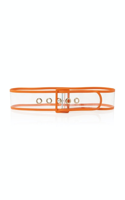PVC and Leather Waist Belt