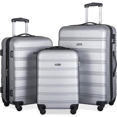 Merax Travelhouse Hardshell Luggage Set