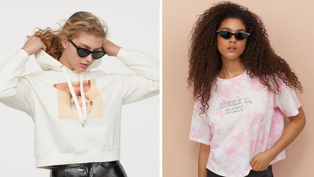 5ed8408b8 What's In The Ariana Grande x H&M Collaboration? Pair This Chic Merch With  An Ari-Inspired High Pony