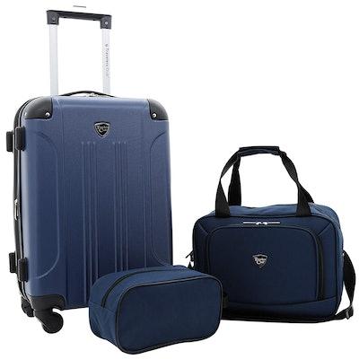 Travelers Club Three-Piece Chicago Luggage Set
