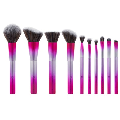 BH Cosmetics Royal Affair 10-Piece Metalized Brush Set