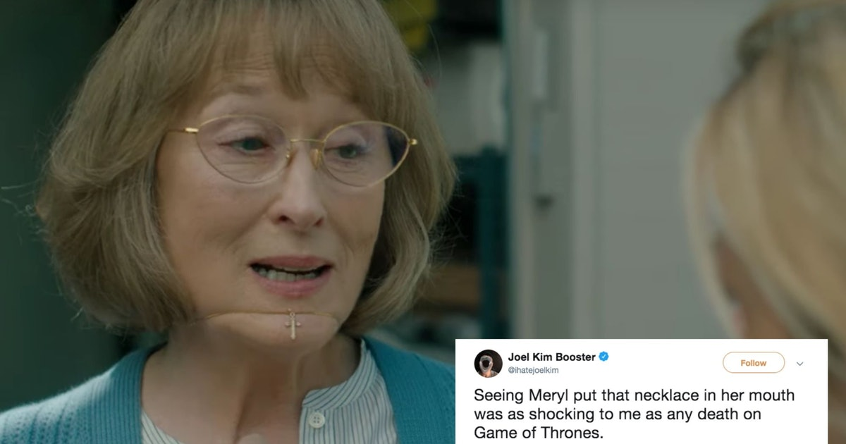 These Tweets About Meryl Streep's Necklace On 'Big Little Lies' Prove Mary Louise Is Already An Icon