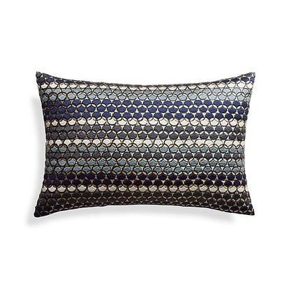 "Capshaw 18""x12"" Pillow with Down-Alternative Insert"