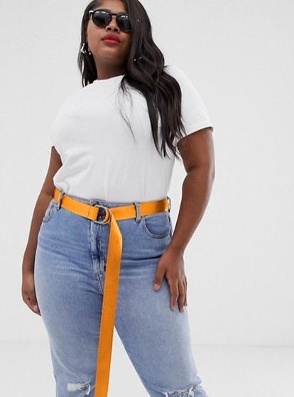 Curve Neon D Ring Waist And Hip Belt