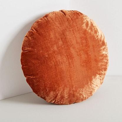 Round Lush Velvet Pillow
