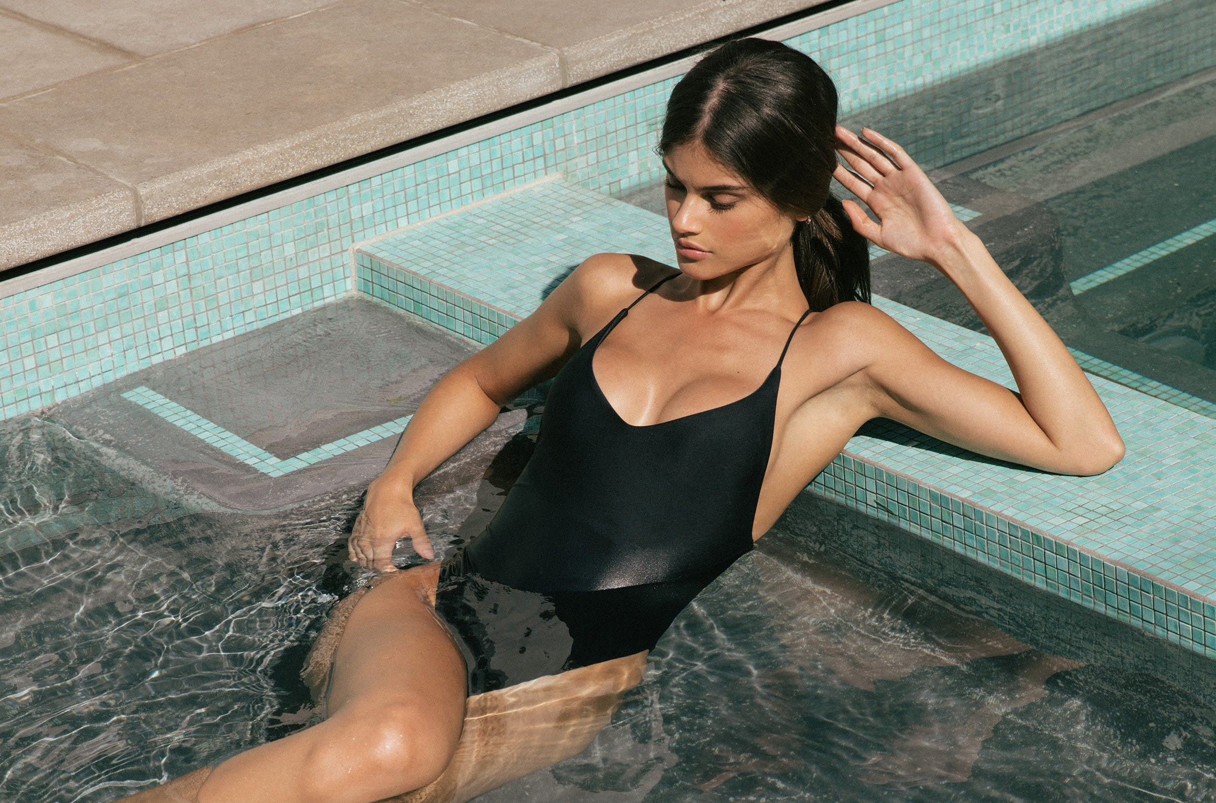 ohyeahgirl Bikini Sets 2 Pieces Swimsuit Bathing Suits for Women Black