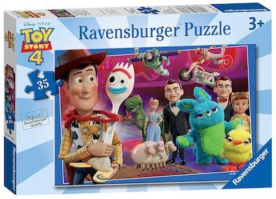 Disney Pixar 'Toy Story 4' 35 Piece Jigsaw Puzzle for Kids